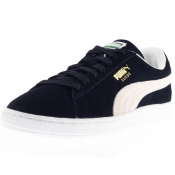 Product Image for Puma Suede Classic Plus Trainers Blue